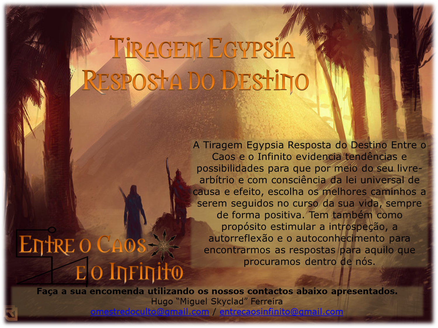 Tiragem Resposta do Destino
